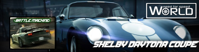 Shelby Daytona Coupe и  Mazda RX-7 Battle Machine!
