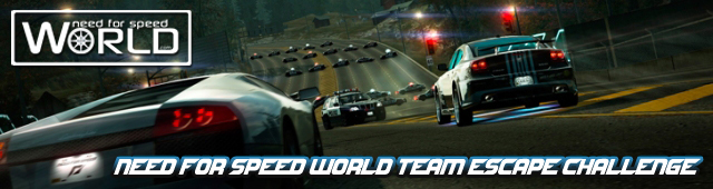 Need for Speed World Team Escape Challenge